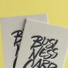 موکاپ کارت ویزیت در گیره کاغذ 1
