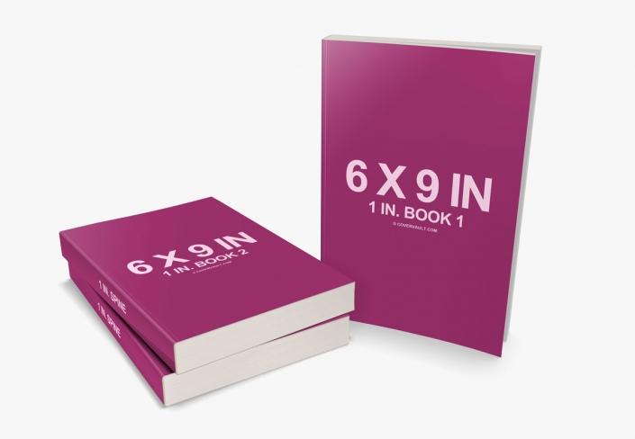 موکاپ برای ارائه سری کتاب روی میز