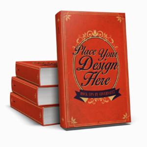 موکاپ چند کتاب با جلد سخت جهت ارائه کتاب