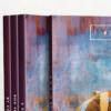 موکاپ مجموعه کتاب با ضخامت کم 1
