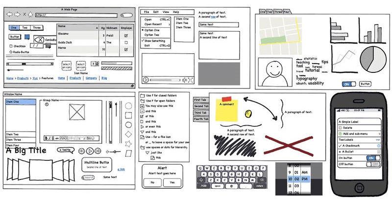 موکاپ لایه باز فتوشاپ فرمت PSD - طراحی UI