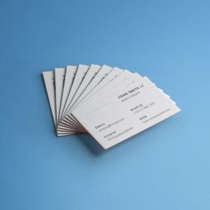موکاپ کارت ویزیت به صورت دسته ای