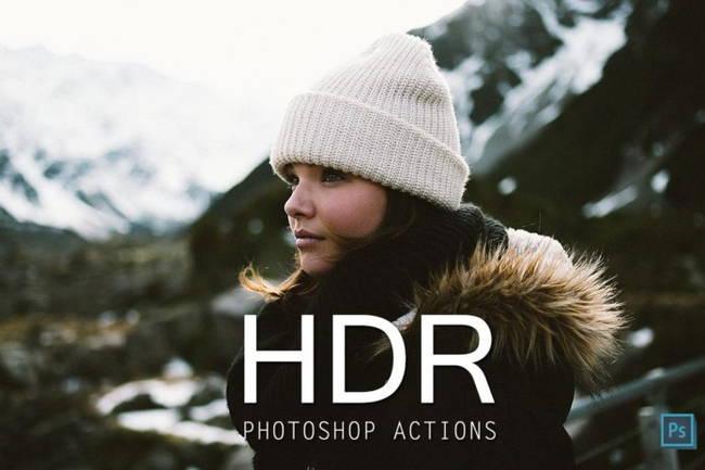 دانلود اکشن فتوشاپ HDR